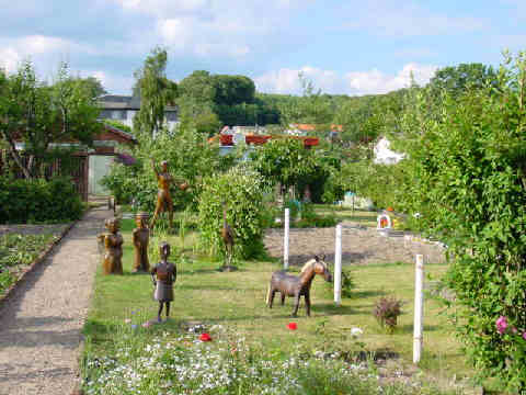 Kleingartenkolonie inselfrieden sch ne ferienwohnung for Fewo sellin